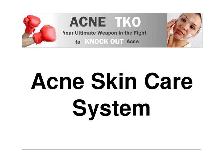Acne Skin Care System<br />