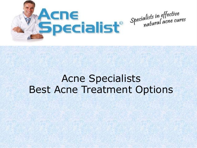 Best treatment options for acne