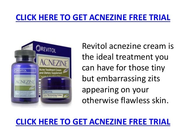 Acnezine Free Trial And How To Get It