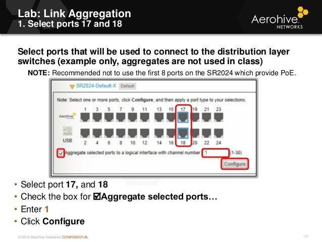 Aerohive Configuration guide