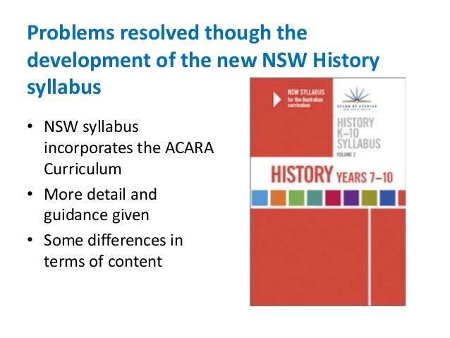 acara 7-10 history syllabus pdf