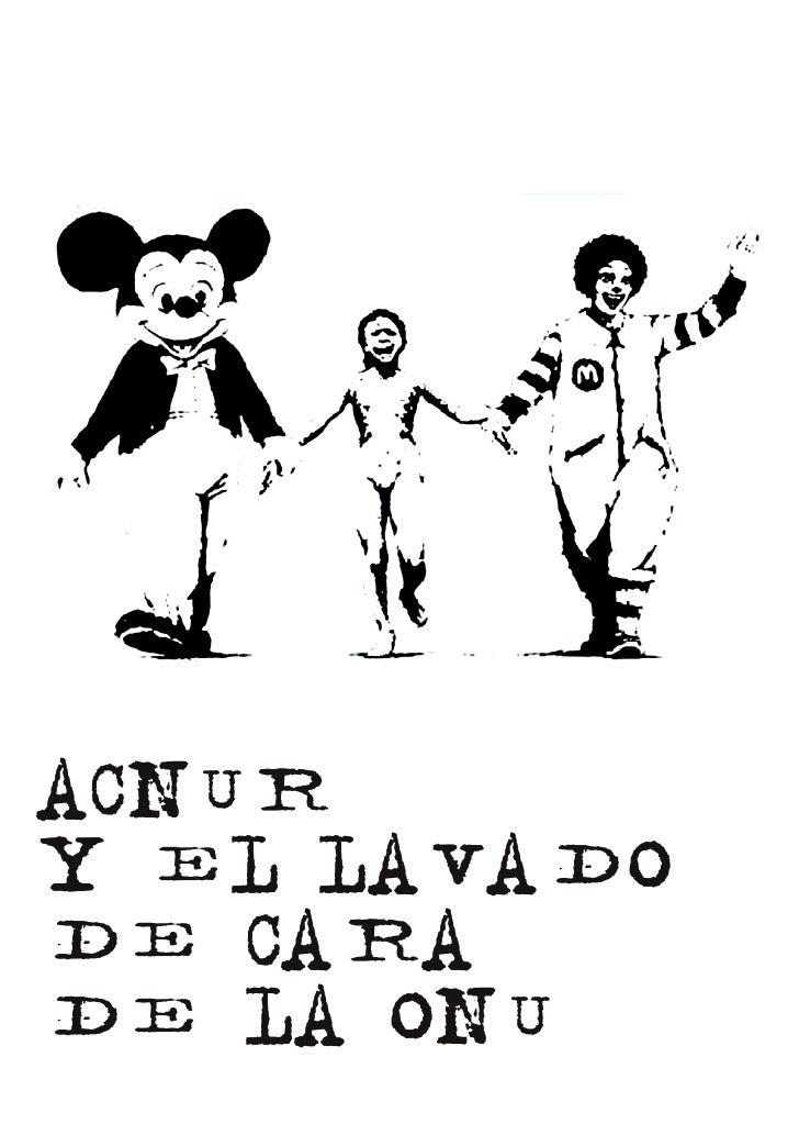 ACNURY EL LAVADODE CARADE LA ONU