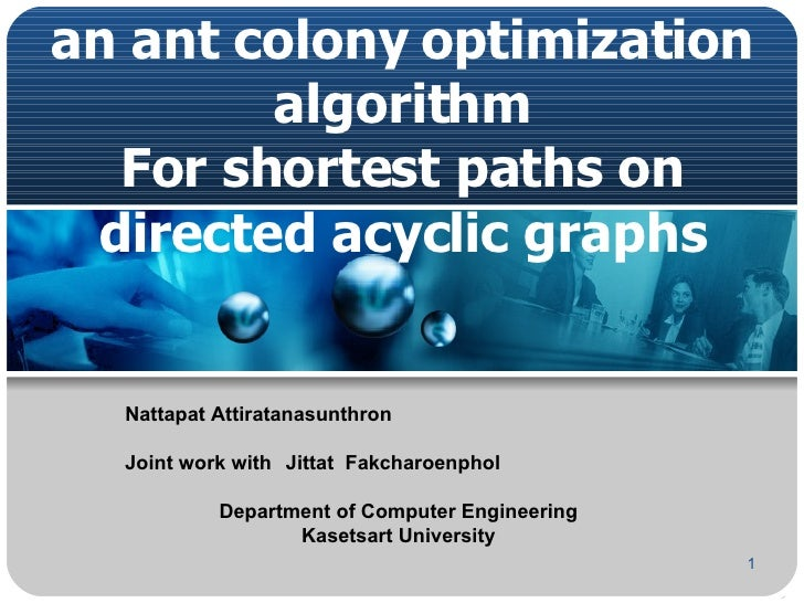 A running time analysis for an ant colony optimization algorithm For shortest paths on directed acyclic graphs Nattapat At...