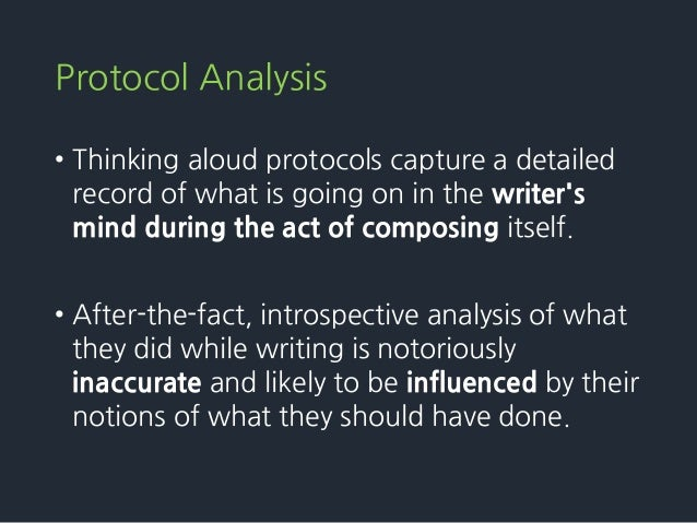 A cognitive process theory of writing