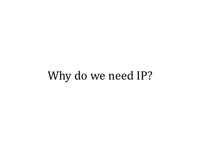 IP protects your ideas from being stolen… …but wouldn't the world be a better place if ideas were freely exchanged?