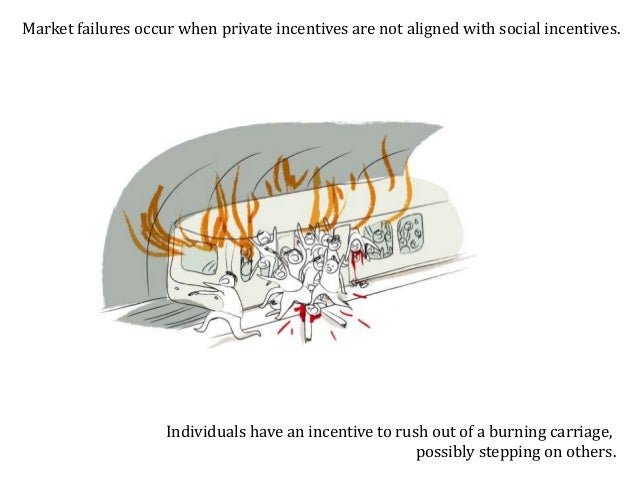 Government can intervene and evacuate people in an orderly way. Government intervention has solved the market failure.