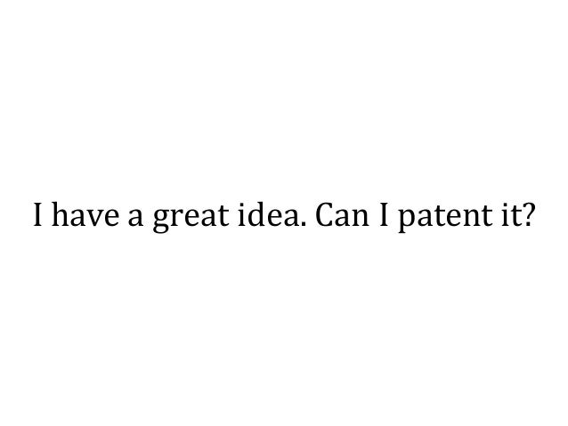 In theory, the government should give patent protection only to inventions that would not have been invented if patent pro...
