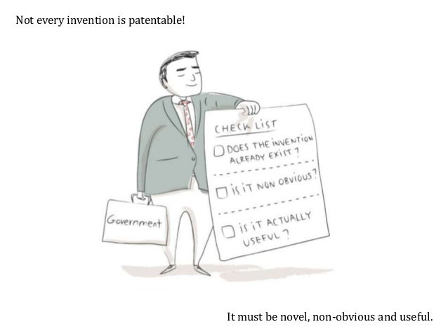The invention must also be patentable subject matter. This excludes, e.g., discoveries, scientific theories and mathematic...