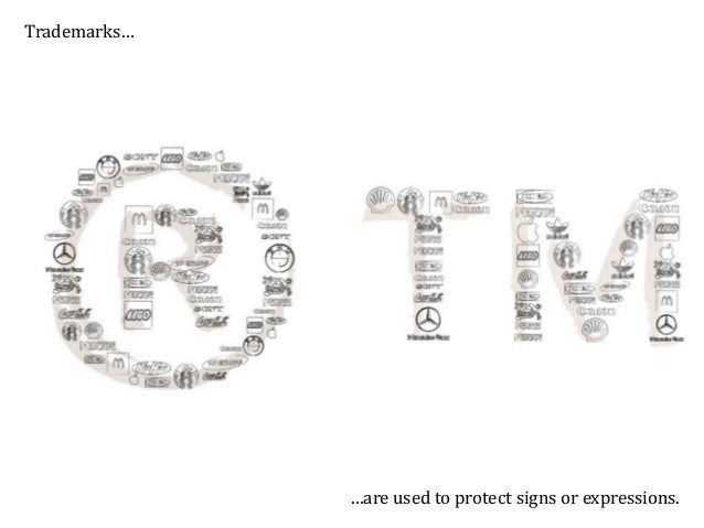 Designs… … are used to protect the visual aspect of objects.