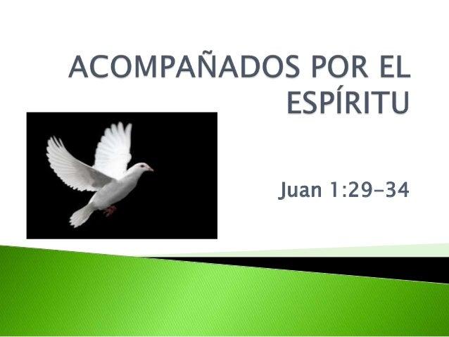 Juan 1:29-34