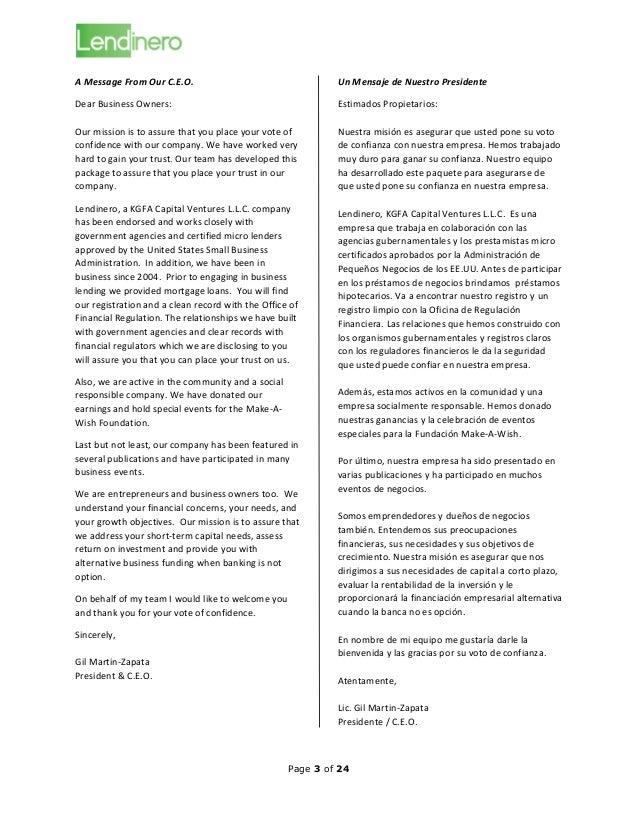 Lendinero is a Company You Can Trust; Lendinero es de Confianza Slide 3