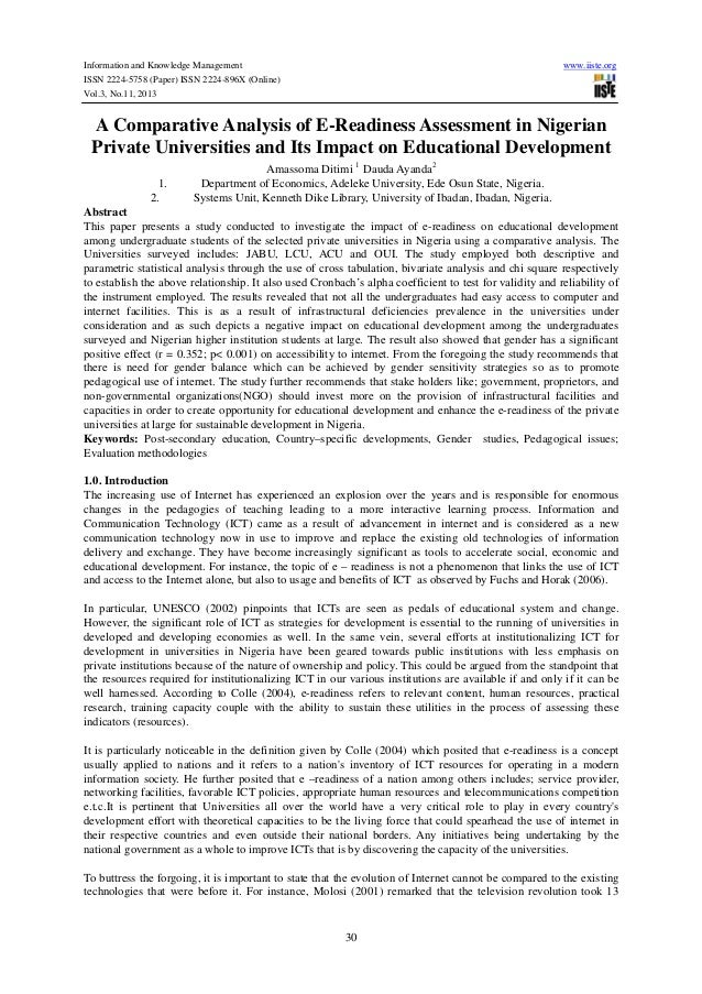 Information and Knowledge Management ISSN 2224-5758 (Paper) ISSN 2224-896X (Online) Vol.3, No.11, 2013  www.iiste.org  A C...