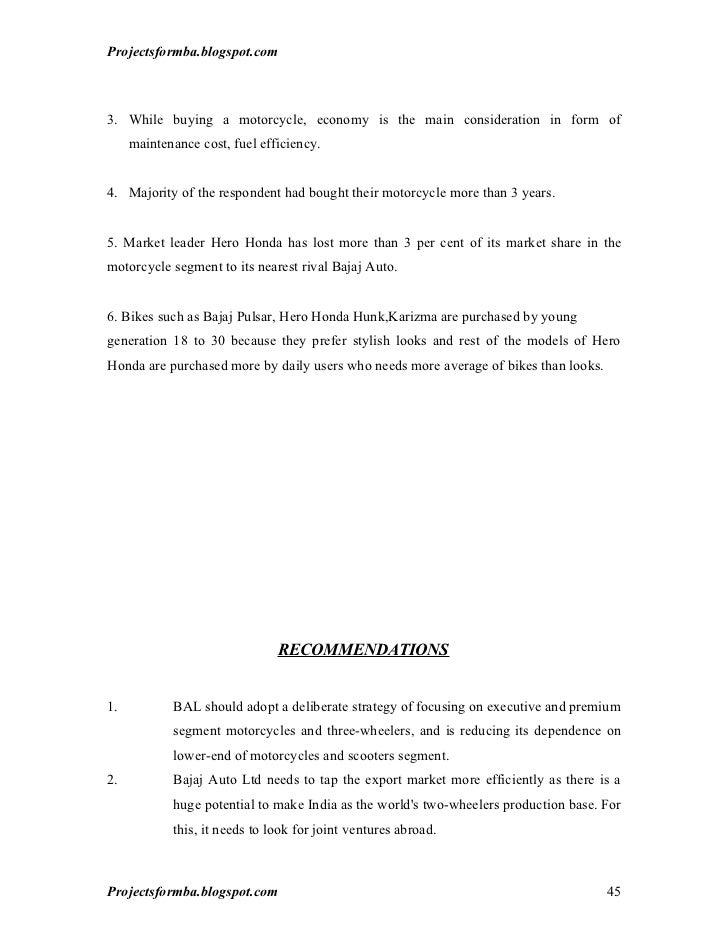 bajaj vs herohonda Comparative analysis of hero honda motors ltd (now hero motocorp ltd) & bajaj auto ltdprofile of the companies profile of h.