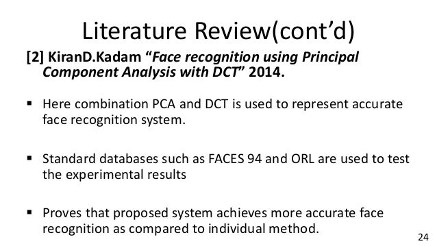 feature extraction in face recognition a review Review on feature extraction methods of  paper is present review on sign language recognition approaches that aims to provide  it recognizes facial movement and .