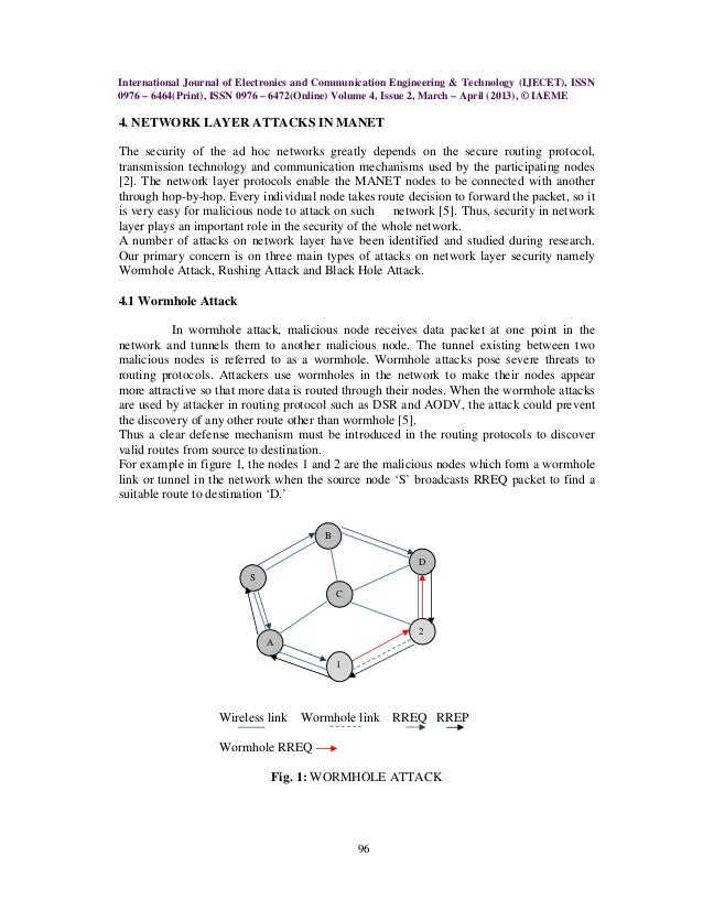 """thesis on black hole attack in manet """"simulation study of blackhole attack in the mobile ad hoc  is the black hole attack the objective of this thesis is to provide a  black hole attack on."""