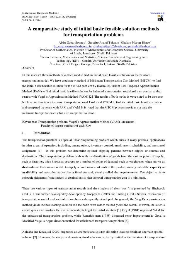 the technique involving comparison groundwork paper