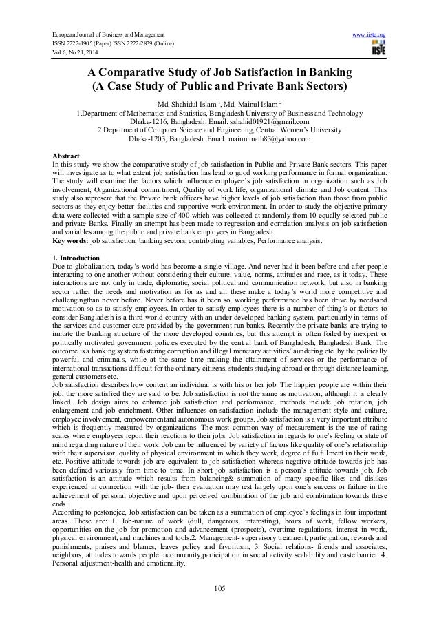 European Journal of Business and Management www.iiste.org ISSN 2222-1905 (Paper) ISSN 2222-2839 (Online) Vol.6, No.21, 201...