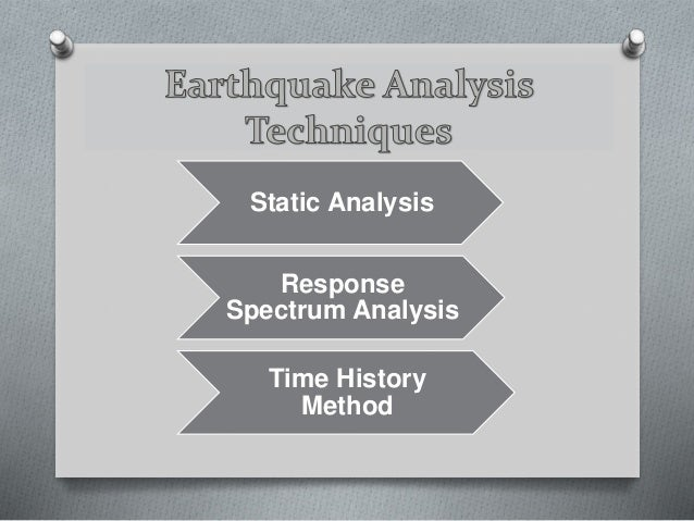 A comparative study of static and response spectrum analysis