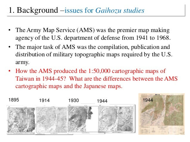 A Comparative Study Of The Topographic Mapping Between The U - 1 50000 topo map us military