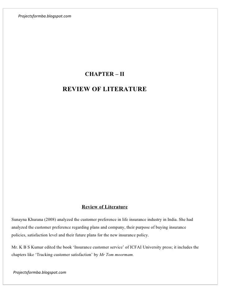 literature review on ulips