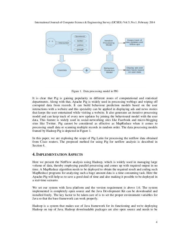 International Journal of Computer Science & Engineering Survey (IJCSES) Vol.5, No.1, February 2014 4 Figure 1. Data proces...