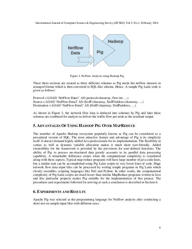 International Journal of Computer Science & Engineering Survey (IJCSES) Vol.5, No.1, February 2014 6 Figure 3. Netflow Ana...