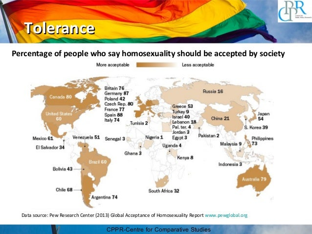 Society tolerant of homosexuality in japan