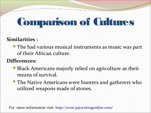 similarities and diffrences between europeans in Extracts from this document introduction similarities and difference between american and asian culture culture can be defined as the ways of thinking, ways of acting, and the material objects that make up a person's way of life.