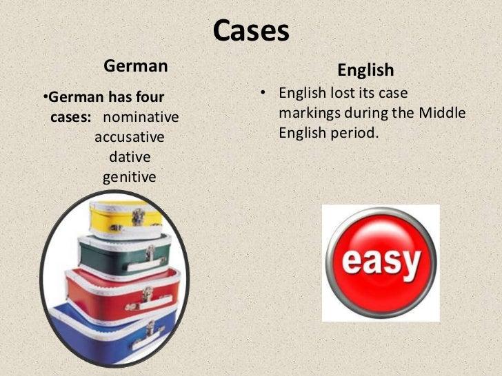 german english