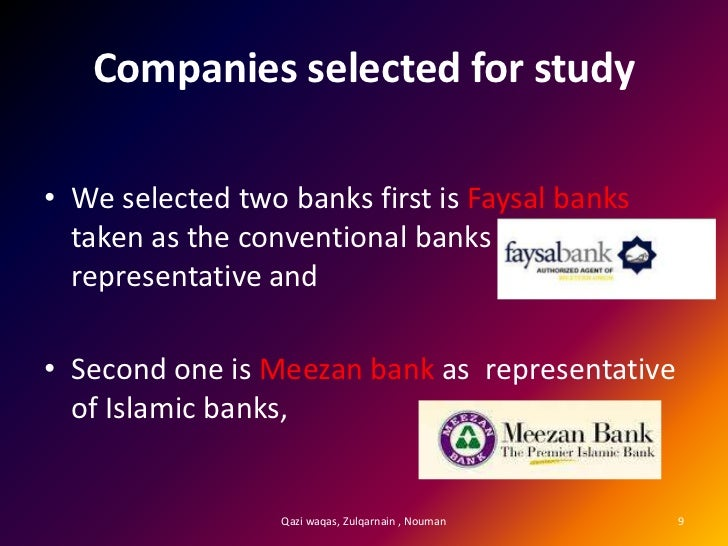 comparison between islamic banking and conventional Free essay: content introduction 1 how islamic banking system is different from conventional one 1 maintenance of crr/slr: 4 project appraisal and.