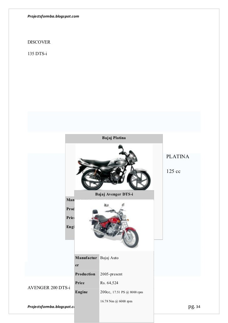 A comparison study on the top 'three' two wheeler