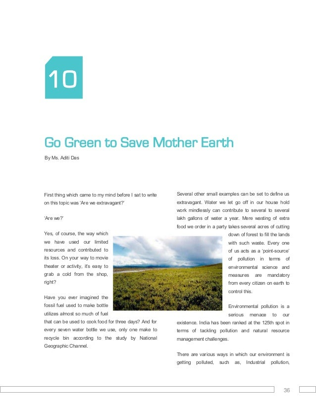 a compendium of essays green clean guide