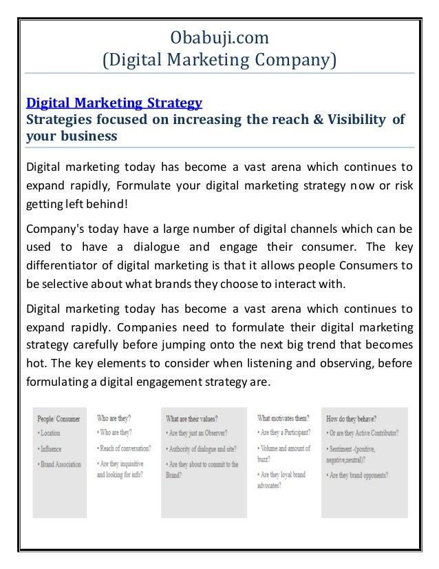 Digital Marketing Become A Contributor