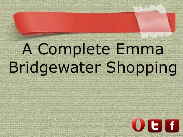 A Complete EmmaBridgewater Shopping