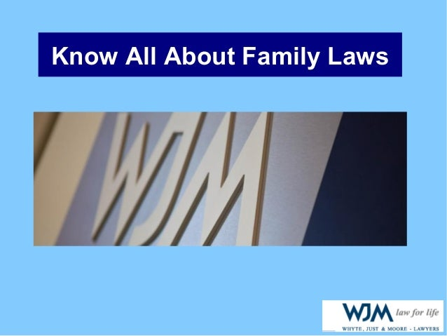 Know All About Family Laws