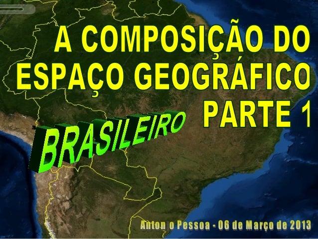 1ª AULA SOBRE O TEMA1ª AULA SOBRE O TEMA (06 de Março de 2013)(06 de Março de 2013)  O CONCEITO DE NATUREZAO CONCEITO DE ...