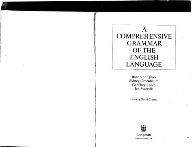 the cambridge grammar of the english language pdf free