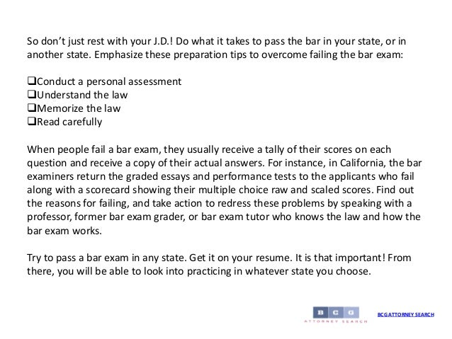 california bar essay tutors Each state has its own - the most notorious is the california bar to get help to get help, find a private bar exam tutor by searching the bar exam tutoring profiles below click the exceptionally qualified tutor, especially for lsat, sat , writing skills, analytical skills, public speaking, interviewing, and admissions essays.