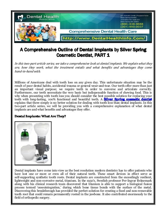 AAAA ComprehensiveComprehensiveComprehensiveComprehensive OutlineOutlineOutlineOutline ofofofof DentalDentalDentalDental I...