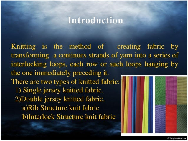 Knitting Fabric Structure : A comprehensive study on interlock circular knitting machine