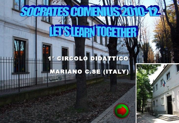 1° CIRCOLO DIDATTICOMARIANO C.SE (ITALY)