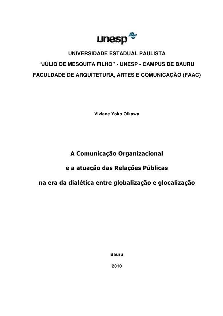 "0           UNIVERSIDADE ESTADUAL PAULISTA  ""JÚLIO DE MESQUITA FILHO"" - UNESP - CAMPUS DE BAURUFACULDADE DE ARQUITETURA, A..."