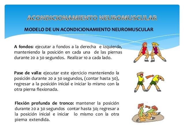 Acondicionamiento neuro muscular