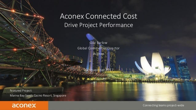 CONFIDENTIAL | 1 Featured Project: Marina Bay Sands Casino Resort, Singapore Connecting teams project-wide Aconex Connecte...