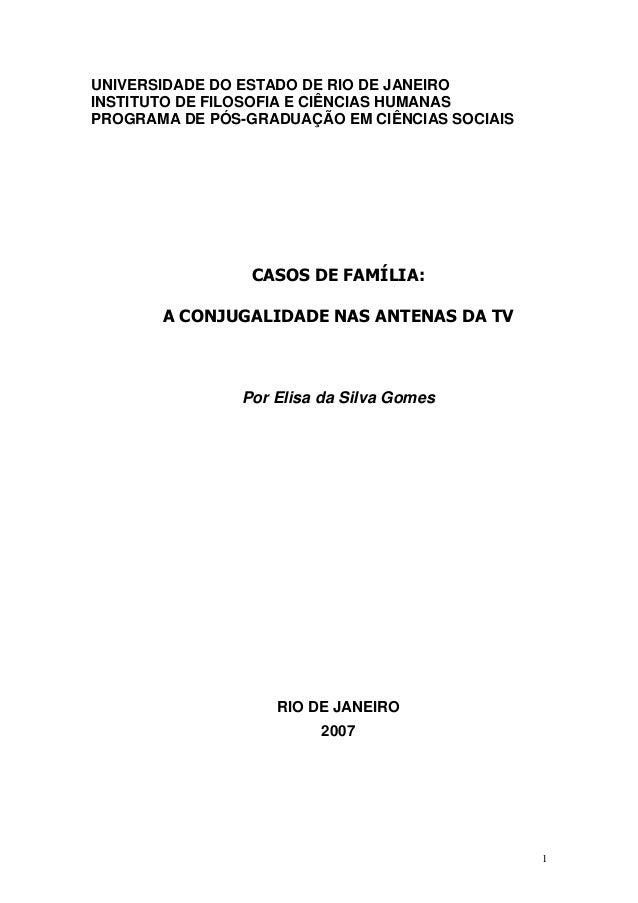 UNIVERSIDADE DO ESTADO DE RIO DE JANEIRO INSTITUTO DE FILOSOFIA E CIÊNCIAS HUMANAS PROGRAMA DE PÓS-GRADUAÇÃO EM CIÊNCIAS S...