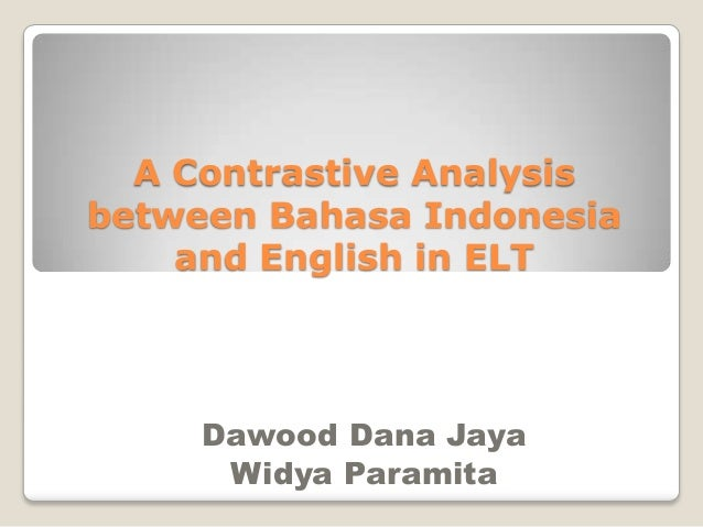 contrastive analysis of english and vietnamese Free essay: advanced writing april 24, 2009 contrastive analysis: prosperity, decline and new hopes of revival it should be mentioned that the history of.