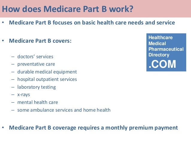 A conversation about medicare part abc and d a concise understand how does medicare part b ccuart Image collections