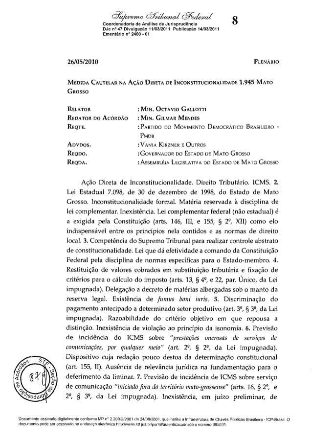 ADI 1945 MCEmenta e Acórdão (2)