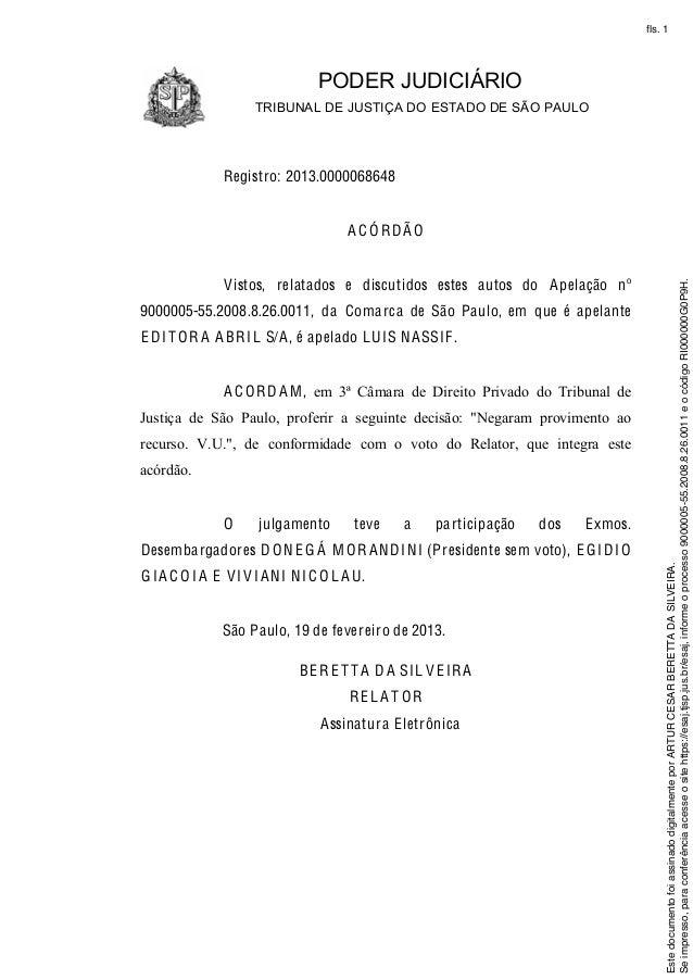 Acordao Modelo Redação November 2019 Serviço