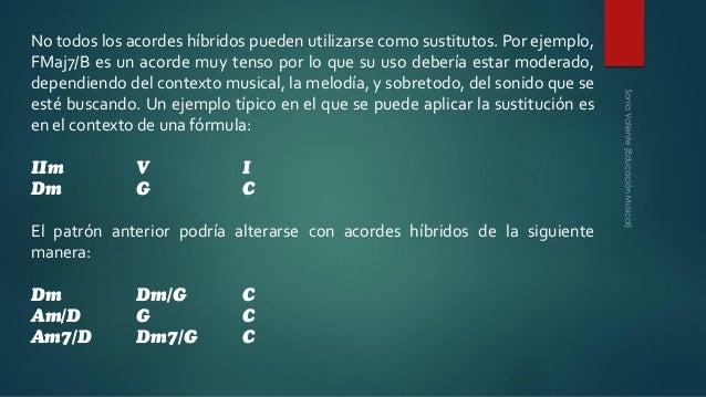 SUSTITUCION DE ACORDES PDF